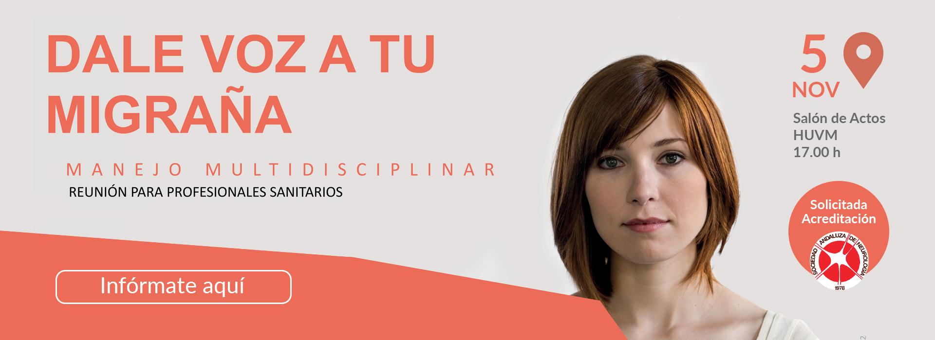 Jornada Dale voz a tu migraña Hospital Macarena