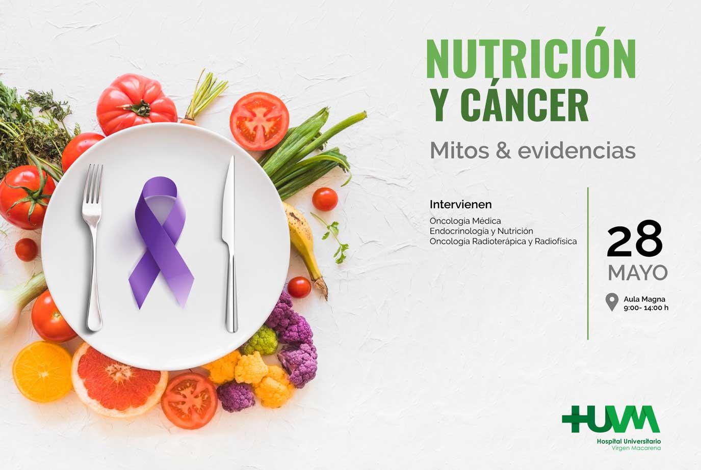 Jornada Nutrición y Cáncer 2019. Mitos y Evidencias