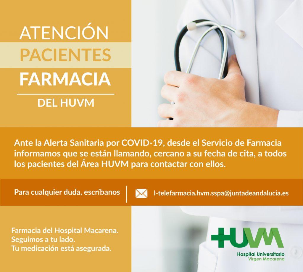 Teléfonos de Atención al Paciente del Hospital Macarena