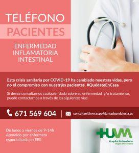 Enfermedad Inflamatoria Intestinal HUVM - Vías de Atención al Paciente