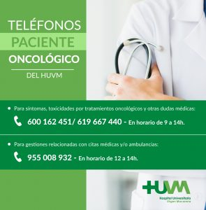 Teléfonos Oncología Médica Hospital Macarena