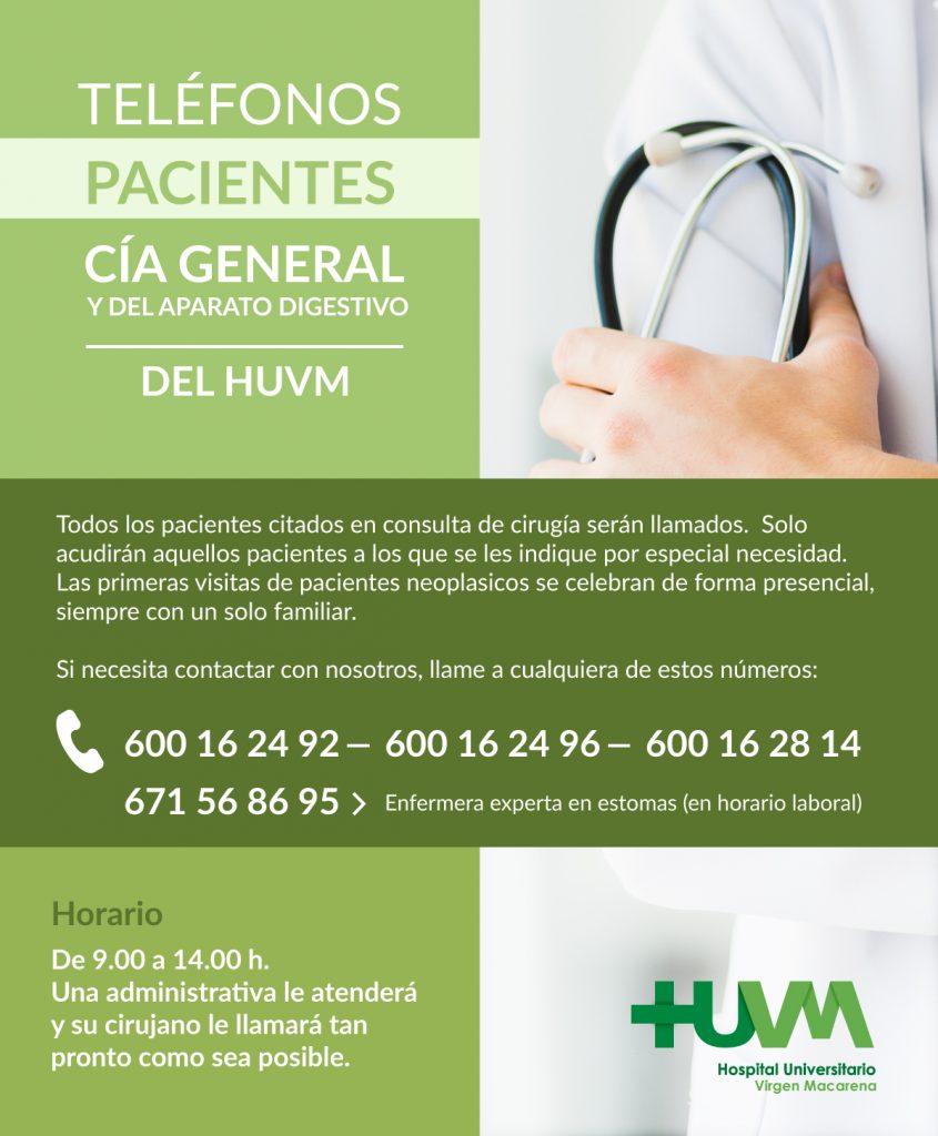 Cía General HUVM - Vías de Atención al Paciente