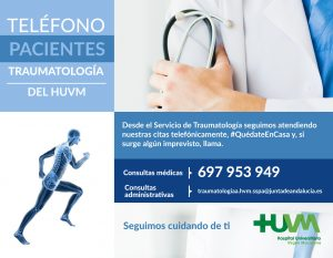 Traumatología HUVM - Vías de Atención al Paciente
