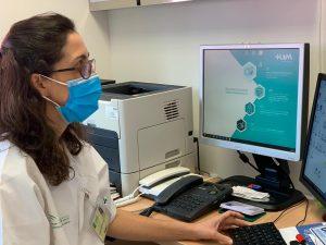 Nemóloga pertenenciente a la Unidad de Asma