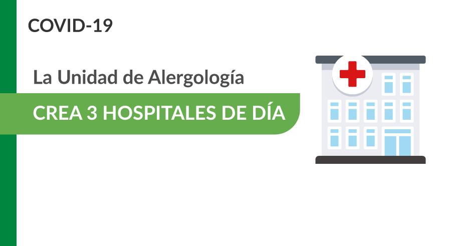 Alergología crea 3 nuevos Hospitales de Día