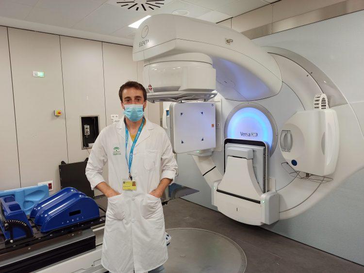 Hector Miras, Radiofísico del Hospital Macarena que ha encabezado el desarrollo clínico de la app