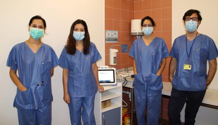 componentes del equipo de la Unidad de Hepatología
