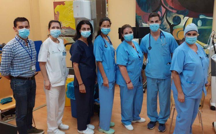 equipo rehabilitación cardíaca Hospital Macarena
