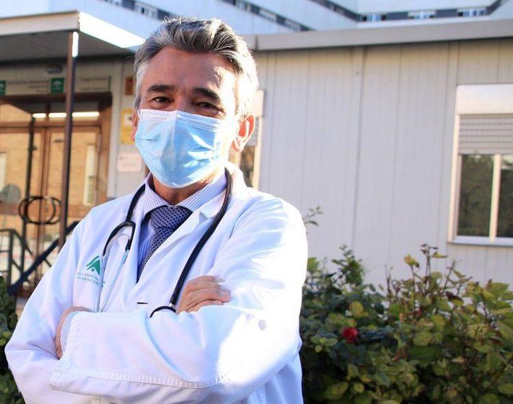 Jaime Boceta, facultativo del Equipo de Soporte Hospitalario de Cuidados Paliativos del centro sanitario