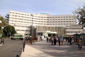 entrada principal Hospital Virgen Macarena