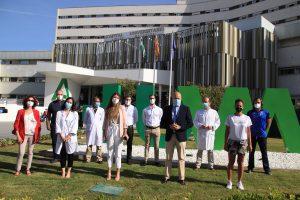 El HUVM con la Asociación Sevilla Respira