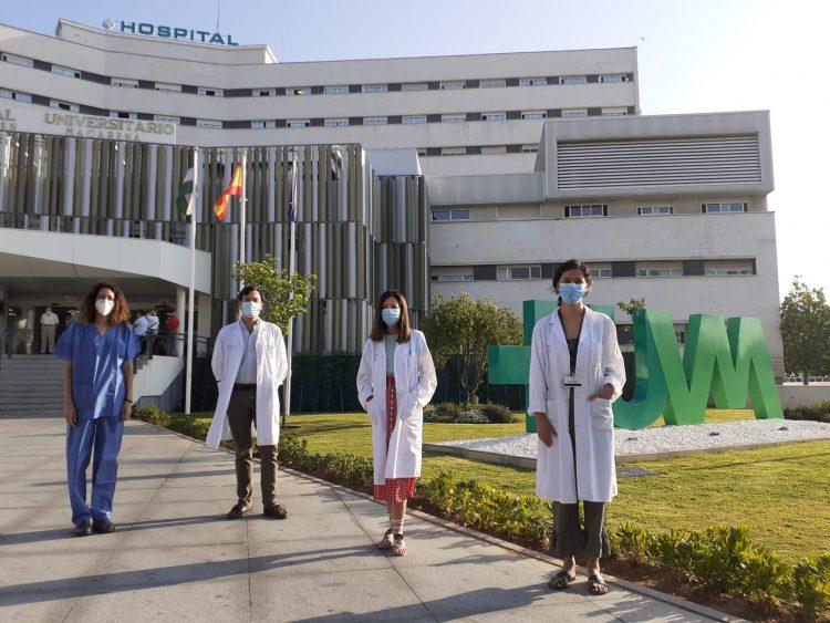 Componentes de la Unidad de Hepatología del Hospital Virgen Macarena