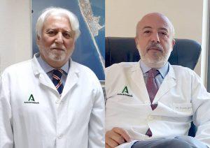 Los doctores Jesús Castiñeiras (izqda) y Ernesto Sánchez (dcha)