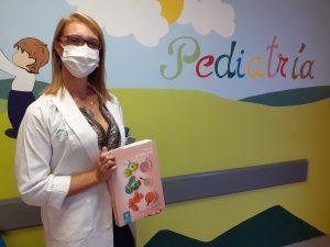 Carmen Rivero, gastroenteróloga pediátrica del Hospital Universitario Virgen Macarena'