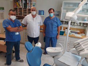 Equipo de Odontología del Hospital Universitario Virgen Macarena